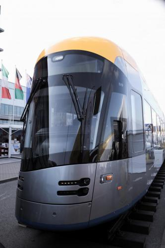 Tramino NGT10 Lipsk Solaris - windscreen glasses