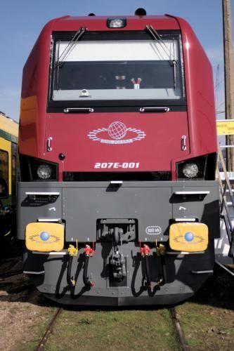 lokomotywa Rail Polska - szyba czołowa/szyby reflektorów czołowych/okna boczne