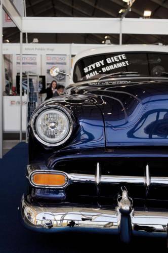 Chevrolet Bel Air - gięte szyby samochodowe